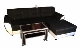 Konferenční stolek - s pohovkou